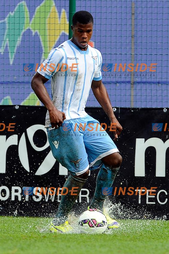 Keita Balde Diao Lazio <br /> Auronzo 26-07-2014 <br /> Football Calcio Amichevole. Pre season 2014/2015 training. Lazio - Perugia. Foto Insidefoto
