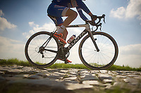 dancing over the cobbles<br /> <br /> 2014 Paris - Roubaix reconnaissance