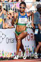 TORONTO, CANADÁ, 23.07.2015 - PAN-ATLETISMO - Vitoria Cristina Silva Rosa durante semifinal 200 metros no atletismo nos Jogos Panamericanos na cidade de Toronto no Canadá, nesta quinta-feira, 23 (Foto: Vanessa Carvalho/Brazil Photo Press)