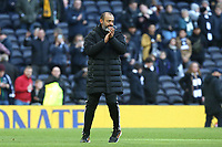 Wolverhampton Wanderers manager Nuno celebrates the victory after Tottenham Hotspur vs Wolverhampton Wanderers, Premier League Football at Tottenham Hotspur Stadium on 1st March 2020