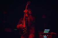 Sao Paulo (SP), 27/04/2020 - Jorge Marinhas - O guitarrista Jorge Marinhas, da banda paulista Republica, morreu nesta segunda feira (27). A noticia foi divulgada pelas redes sociais da banda e a causa da morte ainda nao foi divulgada. FOTO DE ARQUIVO - A banda brasileira, Republica, formada por Leo Beling, LF Vieira, Marco Vieira , Jorge Marinhas e Mike Maeda, se apresentou na noite desta quarta (14/02/2019), no Credicard Hall, zona sul da capital paulista. (Foto: Ale Frata/Codigo 19/Codigo 19)