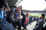 Rangers fans at Murrayfield