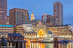 The Boston Harbor Hotel on Rowes Wharf, Boston, Massachusetts, USA