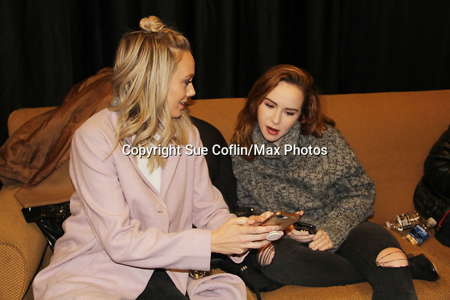 The Young and The Restless actors Melissa Ordway & Camryn Grimes came together on February 16, 2019 for a fan q & a, meet and great with autographs and photo taking hosted by Soap Opera Festival's Joyce Becker at the Hollywood Casino in Columbus, Ohio. (Photos by Sue Coflin/Max Photos)