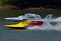 """GNH-52 """"Wanna Bee"""" , Mark Weber, GNH-83 """"Blue Mule II (Grand National Hydroplane(s)"""