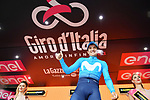 Richard Carapaz (ECU) Movistar Team wins Stage 8 of the 2018 Giro d'Italia, running 209km from Praia a Mare to Montevergine di Mercogliano, Italy. 12th May 2018.<br /> Picture: LaPresse/Gian Mattia D'Alberto | Cyclefile<br /> <br /> <br /> All photos usage must carry mandatory copyright credit (&copy; Cyclefile | LaPresse/Gian Mattia D'Alberto)