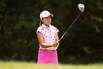 Golfer Mina Nakayama of Japan during the 2017 Hong Kong Ladies Open on June 10, 2017 in Hong Kong, China. Photo by Marcio Rodrigo Machado / Power Sport Images