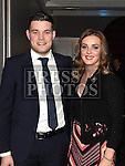 Cathal Lynch and Laura Collins pictured at the Newtown Blues dinner dance in the Westcourt hotel. Photo:Colin Bell/pressphotos.ie