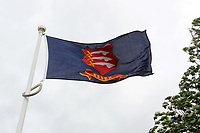 The Essex flag flies in a strong breeze ahead of Yorkshire CCC vs Essex CCC, Specsavers County Championship Division 1 Cricket at Emerald Headingley Cricket Ground on 5th June 2019