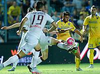 Mirko Gori durante l'incontro di calcio di Serie A   Frosinone - Torino  allo  Stadio Matusa di   di Frosinone ,23 Agosto 2015