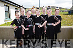 The Figure Dancers from Causeway taking part in the Scór na bPáistí County Finals on Sunday in Foilmore were l-r; Shawna Quinlan, Niamh Barrett, Brídin Purcell, Kayleigh Elbell, Casey Dineen, Donna Kiely, Jade Lynch & Amie O'Callaghan.