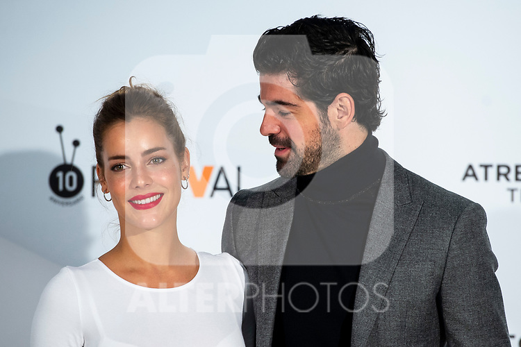 Actress Alejandra Onieva and Miguel Angel Munoz attends presentation of 'Presunto Culpable' during FestVal in Vitoria, Spain. September 05, 2018. (ALTERPHOTOS/Borja B.Hojas)