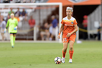 Houston, TX - Saturday July 15, 2017: Janine Van Wyk during a regular season National Women's Soccer League (NWSL) match between the Houston Dash and the Washington Spirit at BBVA Compass Stadium.