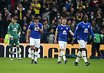 Everton's Ashley Williams looks on dejected after going 3-1 down during the Premier League match at Vicarage Road Stadium, London. Picture date December 10th, 2016 Pic David Klein/Sportimage