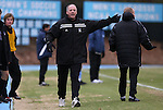 06 December 2008: Northwestern head coach Tim Lenahan. The University of North Carolina Tar Heels defeated the Northwestern University Wildcats 1-0 at Fetzer Field in Chapel Hill, North Carolina in a NCAA Division I Men's Soccer tournament quarterfinal game.