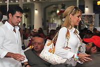 Domingo 8, Septiembre 2013. Espectáculo aparte la presencia de la conductora de televisión Inéz Sainz en la clausura del Torneo Anual del Club de Golf Campanario, en fin de semana muy mojado para los queretanos. <br /> <br /> SIETEFOTO/NortePhoto