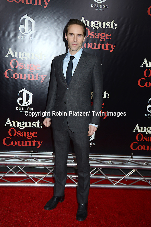 "Alessandro Nivola attends the New York Premiere of ""August: Osage County"" on December 12, 2013 at the Ziegfeld Theatre in New York City."