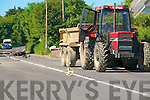Scene of the Accident that clamed the life of John Fuller, Kilfeighny, Lixnaw on Saturday evening last,