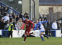 08/03/2008    Copyright Pic: James Stewart.File Name : sct_jspa05_qots_v_dundee.RYAN MCCANN SCORES THE SECOND FROM HIS OWN HALF.James Stewart Photo Agency 19 Carronlea Drive, Falkirk. FK2 8DN      Vat Reg No. 607 6932 25.Studio      : +44 (0)1324 611191 .Mobile      : +44 (0)7721 416997.E-mail  :  jim@jspa.co.uk.If you require further information then contact Jim Stewart on any of the numbers above........
