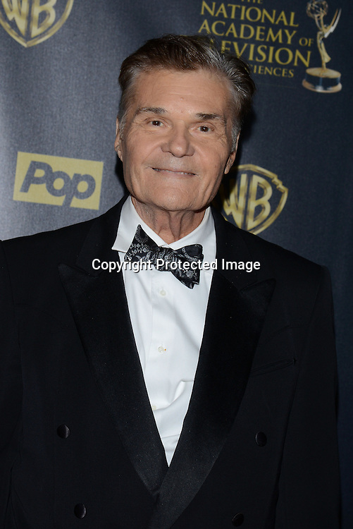 Fred Willard attends the 42nd Annual Daytime Emmy Awards Press Room on April 26, 2015 at Warner Bros Studio in Burbank, California, USA