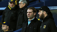 MK Dons Manager, Robbie Neilson alongside his Assistant, Stevie Crawford during Oxford United vs MK Dons, Sky Bet EFL League 1 Football at the Kassam Stadium on 1st January 2018