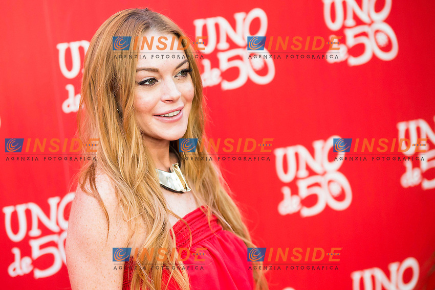 Lindsay Lohan <br /> 20th Anniversary Fete Saldana Palace - Madrid - 06/09/2016 <br /> Foto ALTERPHOTOS/Borja B.Hojas / Insidefoto