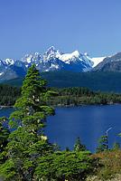 College Fjord, Chugach mountains, Prince William Sound, Alaska