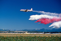 Conair Forest Fire Fighting Demonstration - at Abbotsford International Airshow, BC, British Columbia, Canada