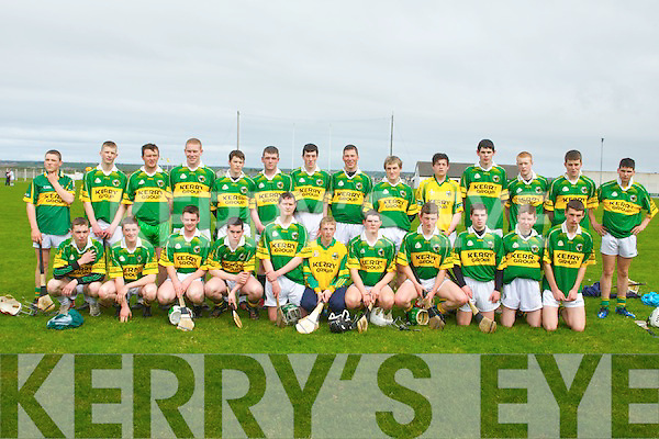 TODD NOLAN TOURNAMENT: The Kerry minor hurling team who competed in the Todd Nolan tournament at Kilmoyley on Saturday...