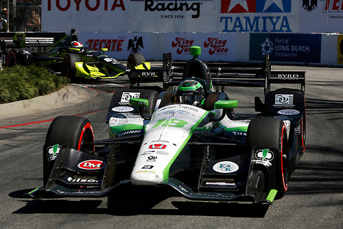 15-17 April, 2016, Long Beach, California USA<br /> 18 Conor Daly<br /> ©2016, Phillip Abbott<br /> LAT Photo USA