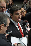Mark Fields, Executive Vice-President of Ford, speaks with the media after the unveiling of a Lincoln concept car at the Detroit Auto Show in Detroit, Michigan on January 12, 2009.
