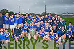 Champions: Kerins O'Rahilly's celebrate their win over Austin Stacks in the County league division 1 final last Sunday evening at their own ground at Strand Rd, Tralee.