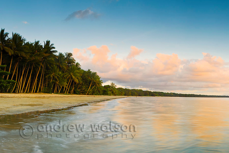 Four Mile Beach at dawn.  Port Douglas, Queensland, Australia