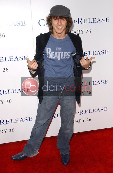 """Matthew Underwood<br />at the world premiere of """"Catch and Release"""". The Egyptian Theatre, Hollywood, CA. 01-22-07<br />Dave Edwards/DailyCeleb.com 818-249-4998"""