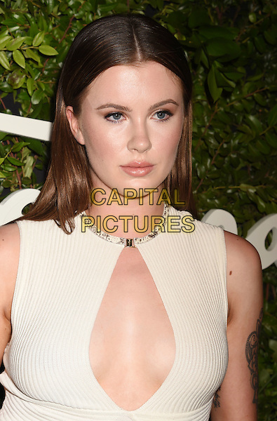 BEVERLY HILLS, CA - SEPTEMBER 09: Model Ireland Baldwin arrives at the Salvatore Ferragamo 100 Years In Hollywood celebration at the newly unveiled Rodeo Drive flagship Salvatore Ferragamo boutique on September 9, 2015 in Beverly Hills, California.<br /> CAP/ROT/TM<br /> &copy;TM/ROT/Capital Pictures