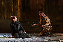 London, UK. 03.10.2017. English Touring Opera presents the first UK production of the 1744 version of Dardanus, at the Hackney Empire, before touring to Oxford, Buxton, Saffron Walden, Snape and Exeter.  This production is directed by Douglas Rintoul, conducted by Jonathan Williams, with design by Cordelia Chisholm and lighting design by Mark Howland. The cast is: Anthony Gregory (Dardanus), Galina Averina (Iphise), Grant Doyle (Teucer), Timothy Nelson (Antenor), Frederick Long (Ismenor), Alessandro Fisher (Arcas), Katy Thomson (Phrygian Woman), Eleanor Penfold (Venus), Mikel Uskola (countertenor chorus), Edward Jowle (baritone chorus). Photograph © Jane Hobson.