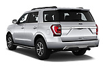 Car pictures of rear three quarter view of 2019 Ford Expedition XLT 5 Door SUV Angular Rear