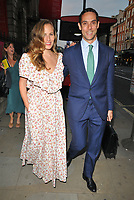 Charlotte Olympia Dellal and Maxim Crewe at the Royal Academy of Arts Summer Exhibition 2018 VIP preview party, Royal Academy of Arts, Burlington House, Piccadilly, London, England, UK, on Wednesday 06 June 2018.<br /> CAP/CAN<br /> &copy;CAN/Capital Pictures