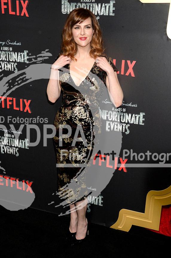 Sara Rue bei der Premiere der zweiten Staffen der Netflix TV-Serie 'A Series of Unfortunate Events / Eine Reihe betrüblicher Ereignisse' im Metrograph. New York, 29.03.2018