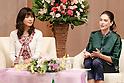 Tokyo Forum for women with Tokyo Gov. Yuriko Koike