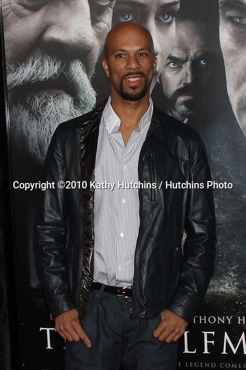Common.arrivng at the premiere of The Wolfman..Arclight Hollywood.Los Angeles, CA.February 9, 2010.©2010 Kathy Hutchins / Hutchins Photo....
