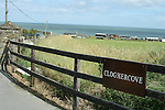 A view down to the summer Chalets in Clogherhead.....Photo NEWSFILE/Jenny Matthews.(Photo credit should read Jenny Matthews/NEWSFILE)....This Picture has been sent you under the condtions enclosed by:.Newsfile Ltd..The Studio,.Millmount Abbey,.Drogheda,.Co Meath..Ireland..Tel: +353(0)41-9871240.Fax: +353(0)41-9871260.GSM: +353(0)86-2500958.email: pictures@newsfile.ie.www.newsfile.ie.FTP: 193.120.102.198.