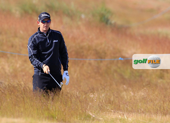 Joachim B. Hansen (DEN) during the first round of the Aberdeen Asset Management Scottish Open 2016, Castle Stuart  Golf links, Inverness, Scotland. 07/07/2016.<br /> Picture Fran Caffrey / Golffile.ie<br /> <br /> All photo usage must carry mandatory copyright credit (&copy; Golffile | Fran Caffrey)