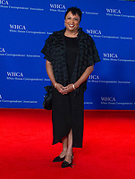 Librarian of Congress Carla Hayden arrives for the 2018 White House Correspondents Association Annual Dinner at the Washington Hilton Hotel on Saturday, April 28, 2018.<br /> Credit: Ron Sachs / CNP / MediaPunch<br /> <br /> (RESTRICTION: NO New York or New Jersey Newspapers or newspapers within a 75 mile radius of New York City)