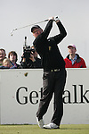 Richard Finch teeing off on the 15th hole during day two of the 3 Irish Open..Pic Fran Caffrey/golffile.ie