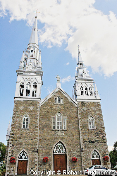 Saint-Charles-Borromee Catholic Chruch in Grandines, Quebec