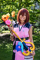 Marga Boteros, Kairi from Kingdom Heart Series Cosplay, Sakura Con 2019, Seattle, WA.