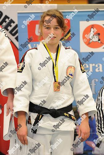 2011-02-13 / Judo / seizoen 2010-2011 / VK U20 Herentals / -52 / Lisa Pyckavet..Foto: mpics