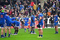 Disappointment for France after an injury time drop goal from Jonathan Sexton of Ireland means that they lose the RBS Six Nations match between France and Ireland at Stade de France on February 3, 2018 in Paris, France. (Photo by Dave Winter/Icon Sport)