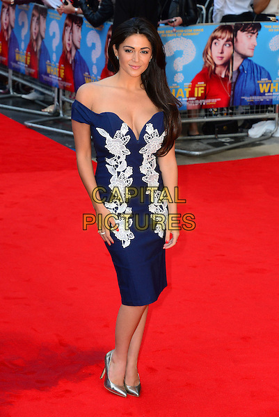 Casey Batchelor<br /> attends the 'What If'  of 'What If' at Odeon West End cinema  on August 12, 2014 in London, England<br /> CAP/JOR<br /> &copy;Nils Jorgensen/Capital Pictures